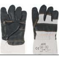 Перчатки рабочие кожаные с мехом