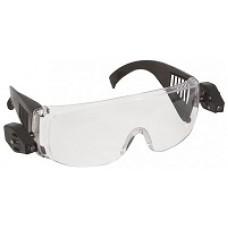 Очки защитные с дужками LED