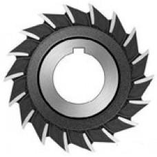 Фреза дисковая трёхсторонняя с прямым зубом, 63х10х22 мм, 2240-0205, Р6М5, ГОСТ 28527-90